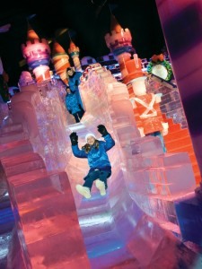 gaylord-palms-ice-slide